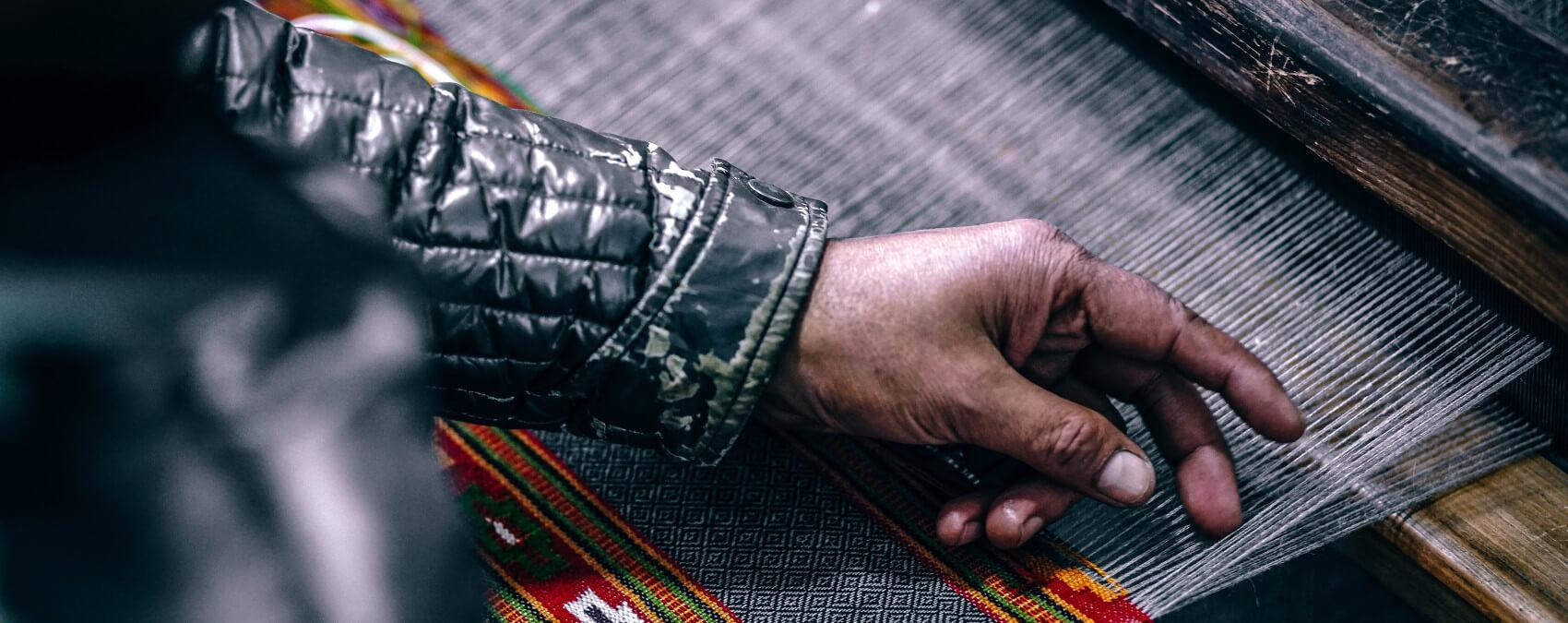 Foto aus der Textilproduktion
